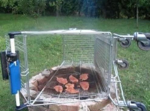 barbecue grill 1 euro astuce du jour. Black Bedroom Furniture Sets. Home Design Ideas