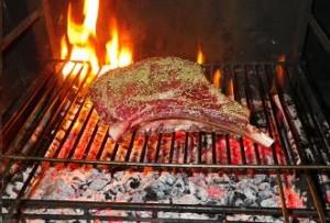Recette de c te de boeuf au barbecue you barbecue - Comment griller une cote de boeuf au barbecue ...