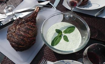 sauce menthe pour côte de boeuf
