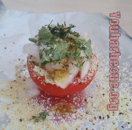 recette simple de tomate au barbecue