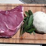 Côte de bœuf en croute de sel