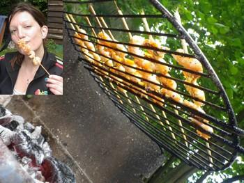 crevettes ricard barbecue recette