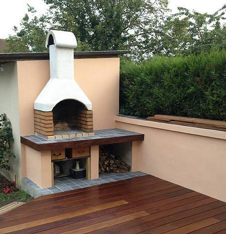 Comment fabriquer un barbecue en dur you for Modele de barbecue exterieur en brique