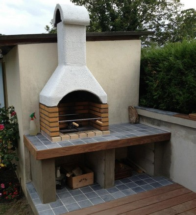 Faire son barbecue en b ton cellulaire you barbecue - Construire son barbecue exterieur ...