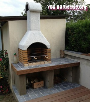 Comment fabriquer un barbecue en dur you - Construire son barbecue exterieur ...