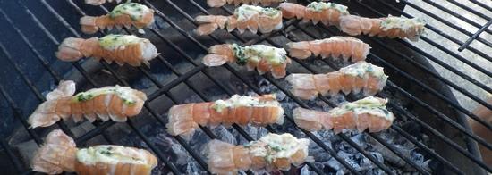 langoustines grillées