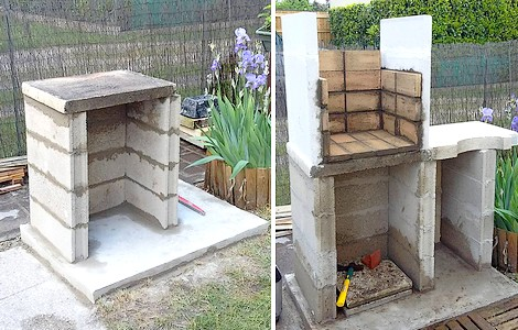 Faire son barbecue en b ton cellulaire you barbecue for Plan barbecue en beton cellulaire