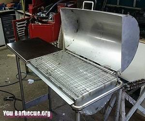 Fabriquer un barbecue avec une bouteille de gaz you - Comment faire prendre un barbecue ...