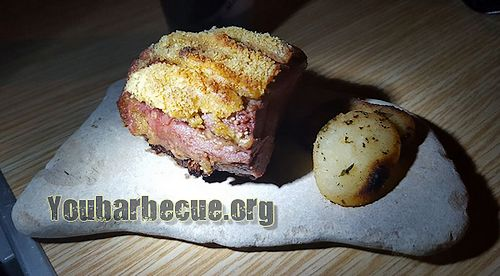 Magret de canard pan au parmesan you for Cuisson magret de canard barbecue