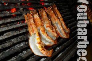 tapas de crevettes au barbecue