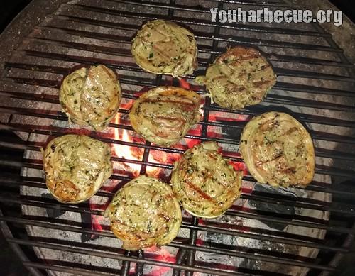 cuisson recette cote agneau filet barbecue