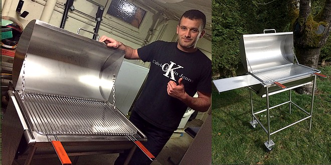 barbecue inox fait maison you barbecue