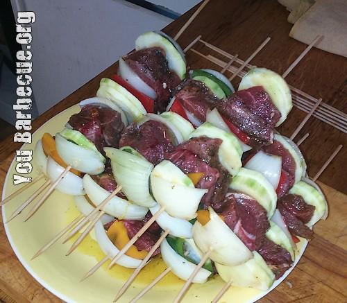 Recette de brochettes de boeuf au paprika you barbecue for Marinade au paprika pour barbecue