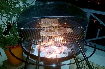 Barbecue a charbon barbecook