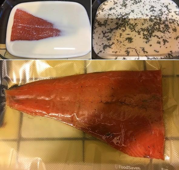 recette truite fumée à froid