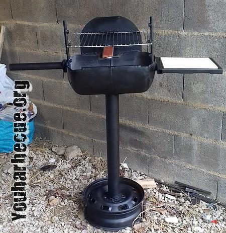 barbecue avec bouteille butagaz