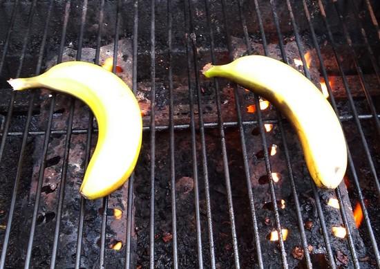 bananes en cuisson