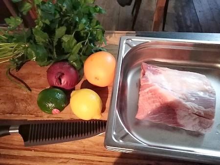 recette filet de porc à la cubaine