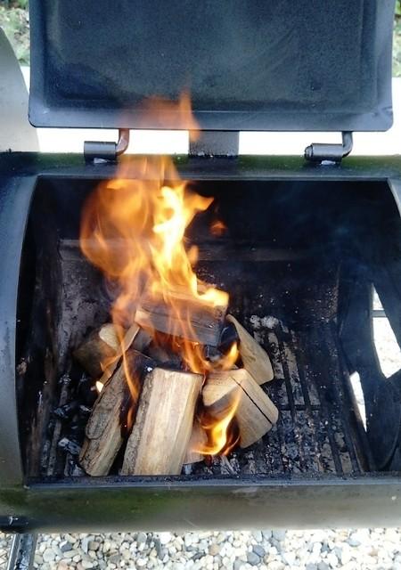 firebox d'offset smoker