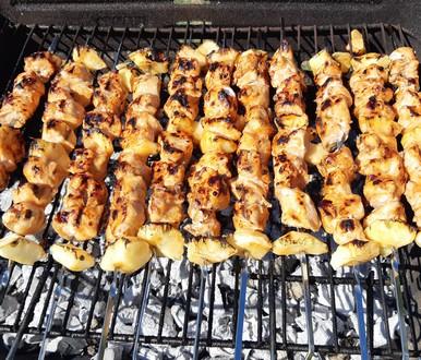 recette poulet au cidre sur la grille