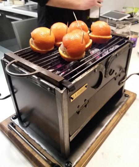 clementines en cuisson