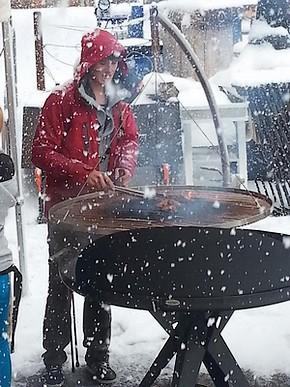Balgrill 1200 barbecue grille suspendue