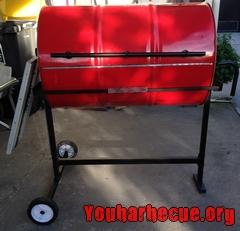 idée barbecue avec un bidon