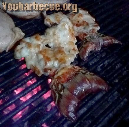queue de langouste barbecue cuba