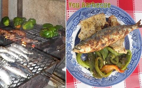 Sardinha portuguesa de lisboa you - Accompagnement sardines grillees barbecue ...