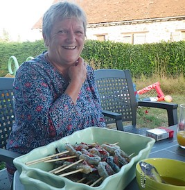 crevettes au chorizo une