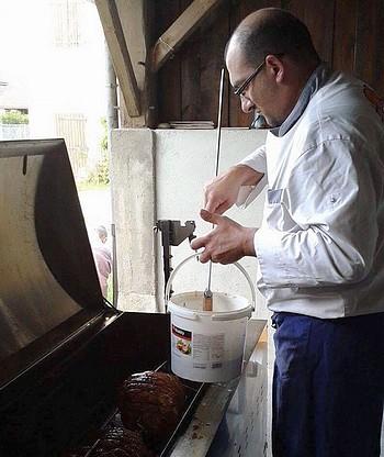 tartinage jambon