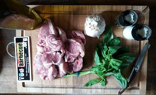 recette côte agneau filet au barbecue