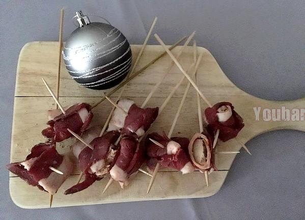 brochettes de foie gras