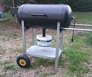 Fabriquer un barbecue avec une bouteille de gaz you - Fabriquer un barbecue avec un chauffe eau ...