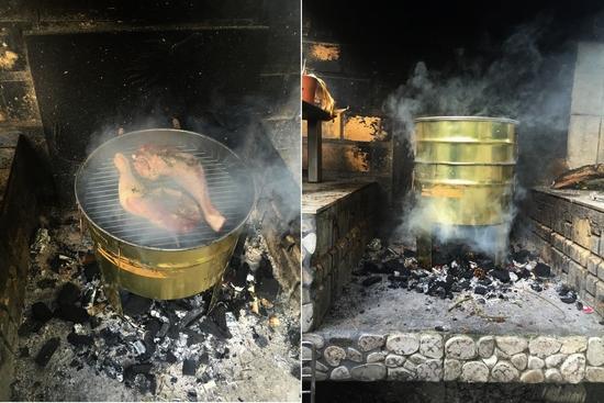 Faire soi m me un four boucaner you - Fabriquer un barbecue avec un chauffe eau ...