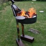 statue barbecue