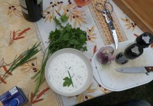 sauce blanche rapidos