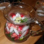mojito fraises en tete