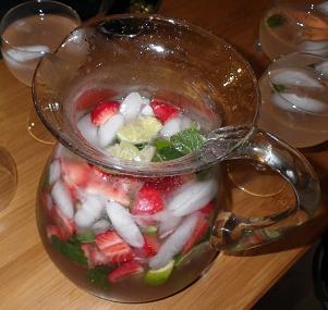 mojito fraises