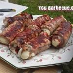 enroulé de veau et mozzarela au barbecue