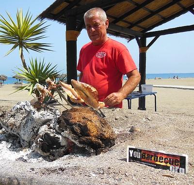 les brochettes andalouses de Carlos youbarbecue