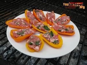 tapas mini poivrons par youbarbecue.org