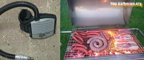 soufflerie maison pour barbecue