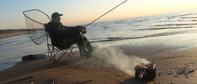 partie de pêche en Biogrill