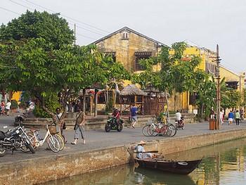 Paysage de Hoi An Vietnam