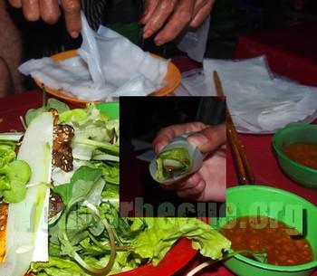 Rouleau de brochettes Vietnamienne Hoi An