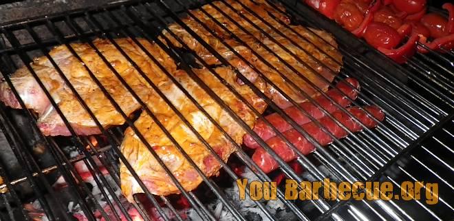 Côtes de porc marinade Christian Potier