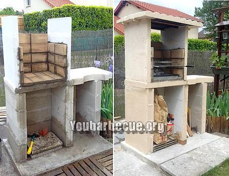 Barbecue Beton Cellulaire Brique Construction Et Immobilier