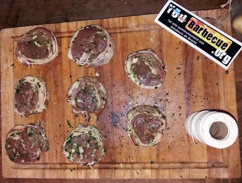 recette côte agneau filet au basilic