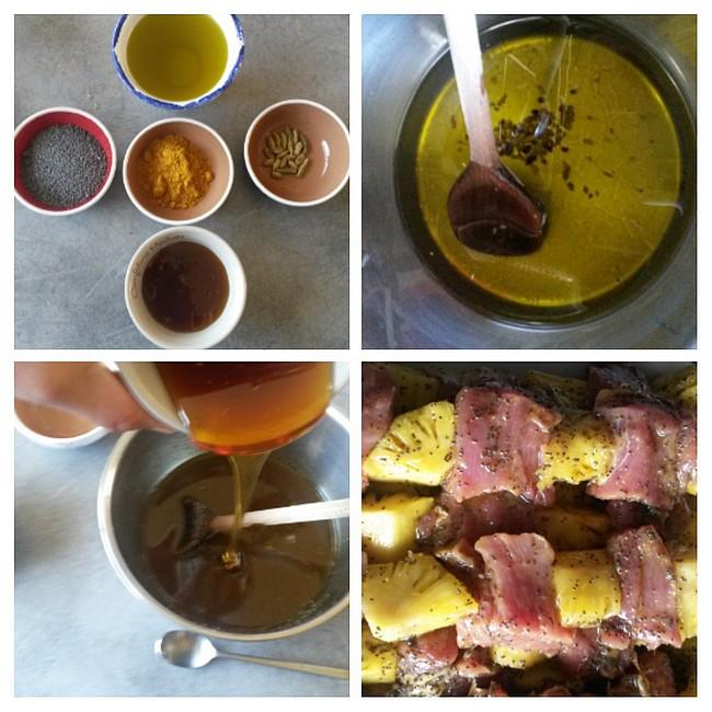 Recette de marinade filet mignon ananas